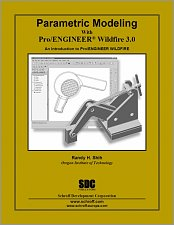 Parametric Modeling with Pro/ENGINEER Wildfire 3.0 small book cover