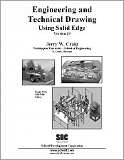 Engineering and Technical Drawing Using Solid Edge Version 19 small book cover
