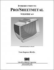 Introduction to Pro/SHEETMETAL Wildfire 4.0 small book cover