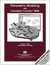 Parametric Modeling with Autodesk Inventor 2009 small book cover