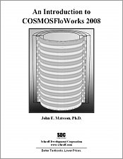 An Introduction to COSMOSFloWorks 2008 small book cover