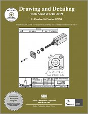 Drawing and Detailing with SolidWorks 2009 small book cover