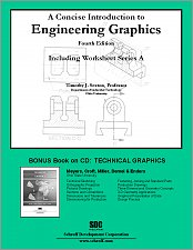 A Concise Introduction to Engineering Graphics Fourth Edition Including Workbook A small book cover
