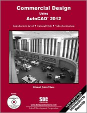 Commercial Design Using AutoCAD 2012 small book cover