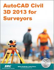 AutoCAD Civil 3D 2013 for Surveyors small book cover