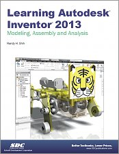 Learning Autodesk Inventor 2013 small book cover