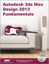 Autodesk 3ds Max Design 2013 Fundamentals small book cover