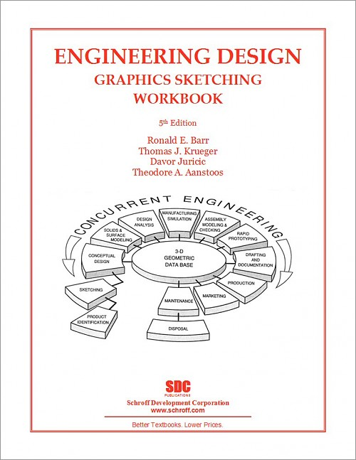 Engineering Design Graphics Sketching Workbook: Fifth ...