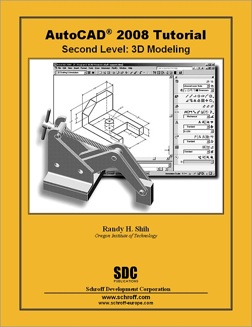 AutoCAD 2008 Tutorial - Second Level: 3D Modeling, Book