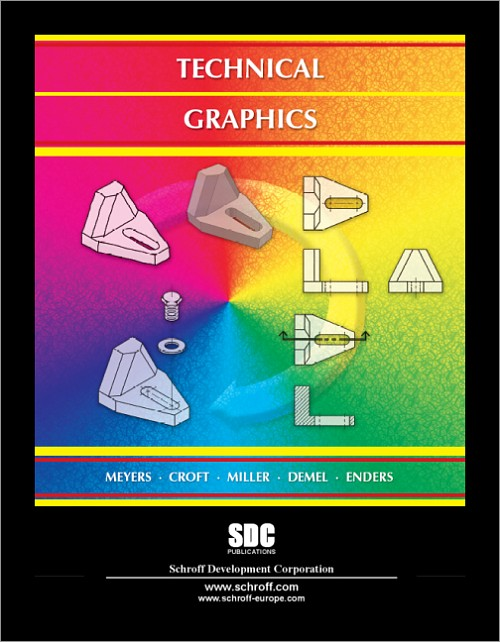 Technical Graphics Book Isbn 978 1 58503 395 9 Sdc