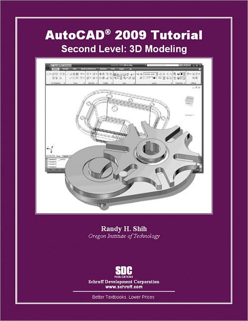 AutoCAD 2009 Tutorial - Second Level: 3D Modeling, Book, ISBN: 978-1 ...