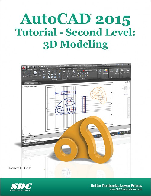 AutoCAD 2015 Tutorial - Second Level: 3D Modeling, Book, ISBN: 978-1 ...