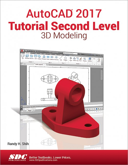 AutoCAD 2017 Tutorial Second Level 3D Modeling, Book, ISBN ...
