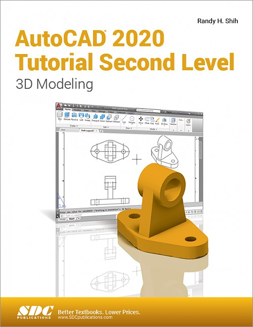 AutoCAD 2020 Tutorial Second Level 3D Modeling, Book, ISBN